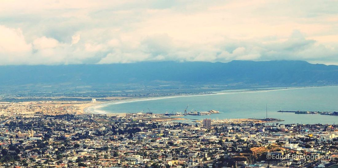 My friend is a professional photographer and I asked permission to upload his pictures. What do you think? City Ensenada Taking Photos Ocean View