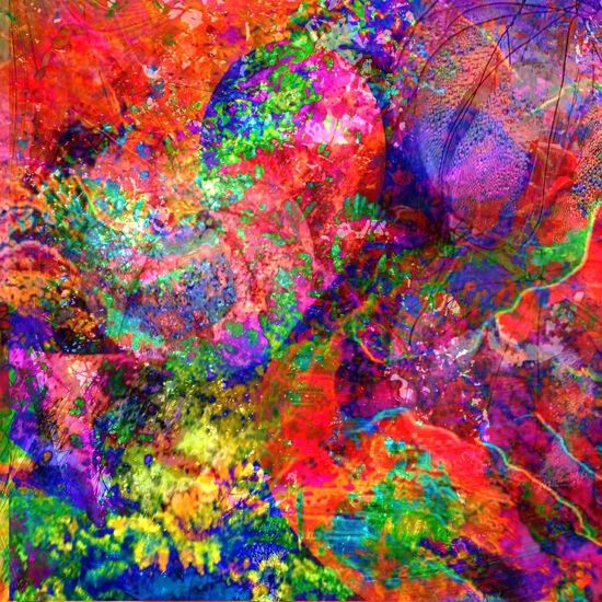 A-Burst, At Last Colors Abstractions In Colors My Art Abstractporn