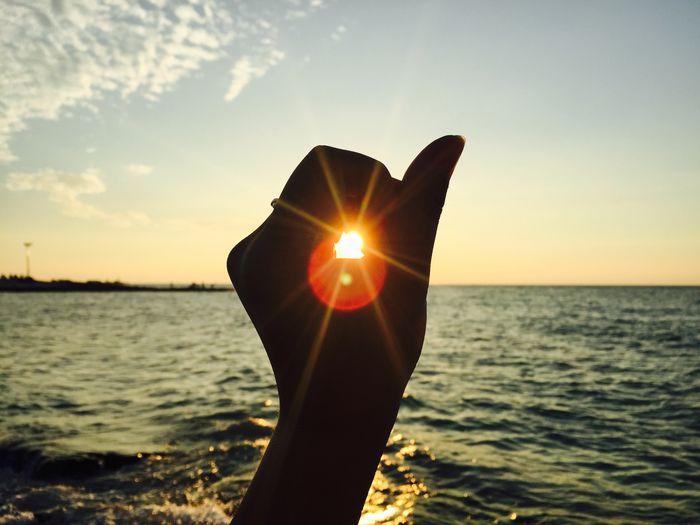 제주도 협재 JEJU ISLAND  Sunlight Hand Trip Sea