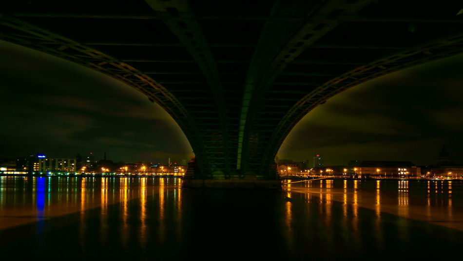 Under The Bridge - Calm Down @ Night Long Exposure Longexposure Long Exposure Shot Nightphotography Night Lights Night Photography Nightshot Light Light And Shadow Lights Light In The Darkness Reflection Bridge - Man Made Structure Water River Night Illuminated Architecture No People Built Structure Outdoors Urban Skyline City EyeEmNewHere