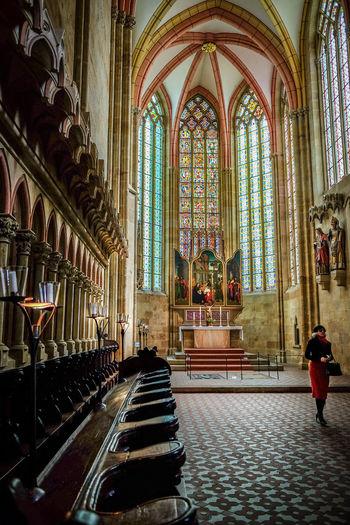 Dome zu Meißen Architecture Cathedral Dome Of Meis East Germany Fuji X70 Gothic Gothic Architecture Gothic Church Gothic Church In Germany MeinAutomoment Meißen Meißener Dom Religion Glass Windows