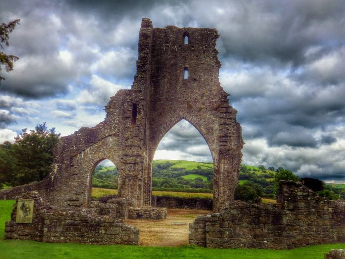 Wales Photography Taking Photos Check This Out Abbey Ruins Architecture Architectural Detail Landscape Oldbuilding