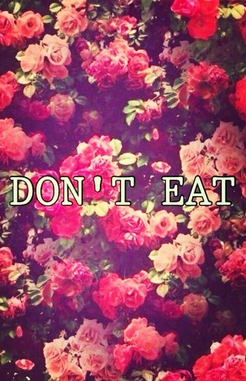 Diet Don't Eat Aqua