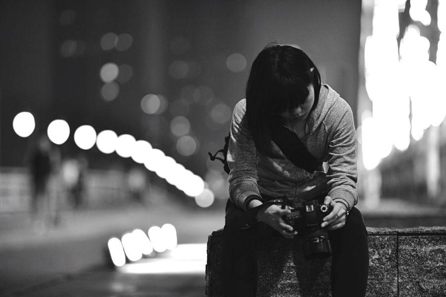 Night Light And Shadow EyeEm Best Shots - Black + White Stree Photography Blackandwhite Black & White Enjoying Life Eye4photography  Taking Photos Friends On The Road People