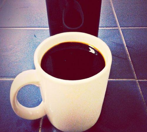 Black as night, sweet as sin Coffeetime Good Morning