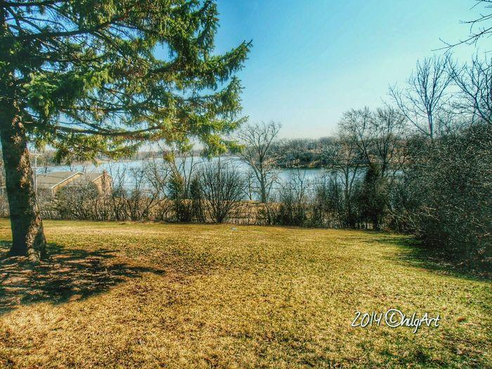 Spring! Lake Antioch Relaxing Taking Photos