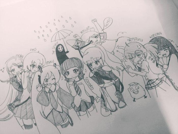 Manga Drawing KAWAII Anime
