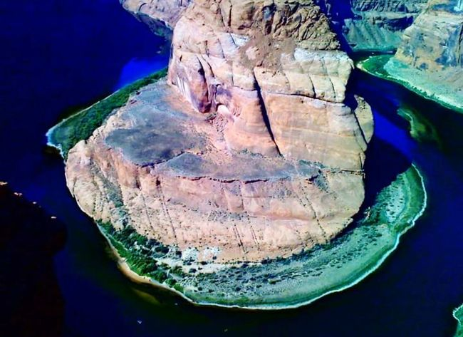 Horseshoe Bend Lake Powell Rock - Object Water No People Nature Beauty In Nature Outdoors Mountain Day