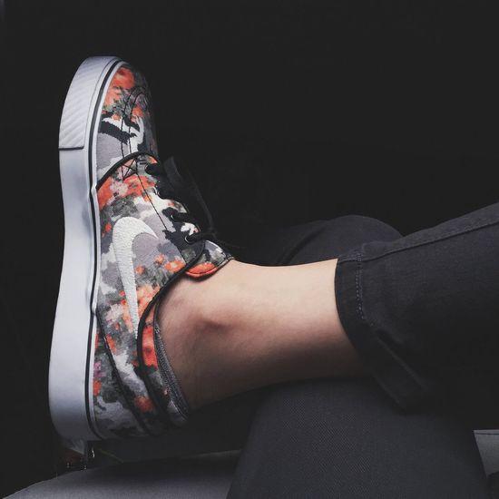 Mandarinflorals Nike Shoes Florals Lifestyles Sports Kicks Sneakers EyeEmNewHere