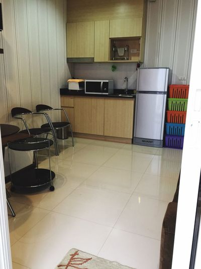 Condominium Condo Thailand Modern Design No People, Indoors Shoe Rack TV Console Living Room Shot Wide Shot Wide Angle Tv Kitchen Table Kitchen Living Room chair