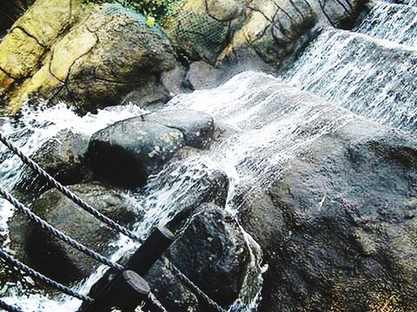Rock - Object River Water Nature Beauty In Nature Day Outdoors No People Scenics Waterfall Close-up
