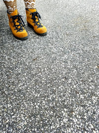 Pair Feet Boots EyeEmNewHere Concrete Looking Down Abstract Textured  Parking Lot EyeEm Best Shots Chillin Like A Villain Woman Portrait
