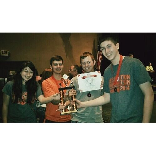 So this happened yesterday...2nd place at state...WE ARE GOING TO GLOBALFINALS