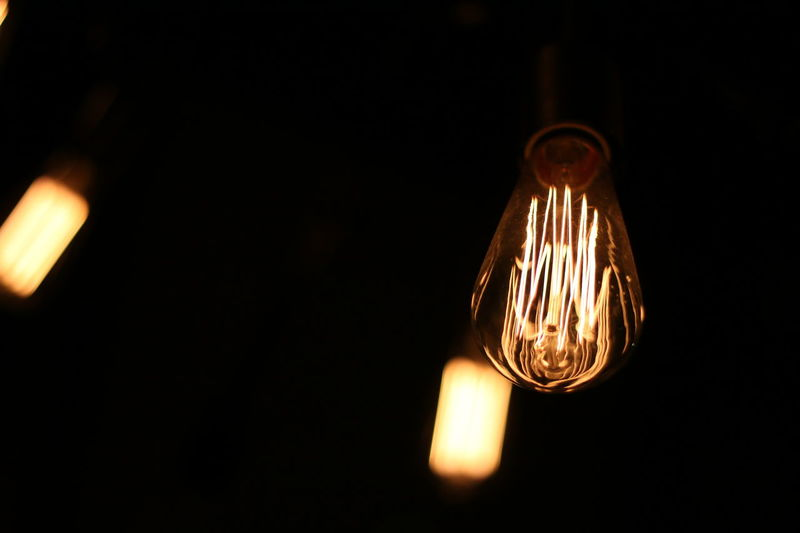 Black Background Canon Canon 70d Canonphotography Close-up Darkroom Electric Bulb Electricity  Filament Flare Hanging Illuminated Indoors  Light Bulb Lighting Equipment Low Angle View No People