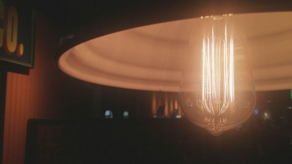 Illuminated Indoors  Lighting Equipment Hanging Electric Lamp Ceiling Dark Curtain Lantern Glowing Electric Light Modern Darkroom
