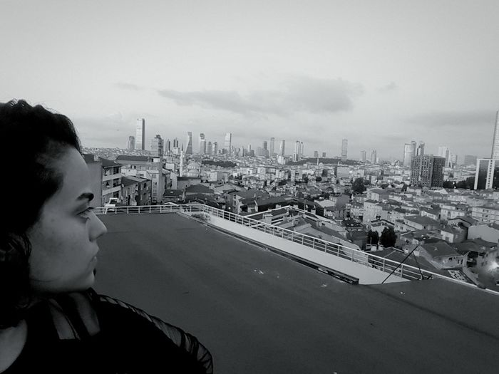 Working Landscape On A Break Blackgivesmeluck Top Secret Mission Topoftheworld Topoftheroof Watchingthesunset Istanbul MyCity❤️