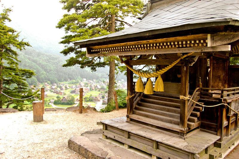 Facade Of Rural House