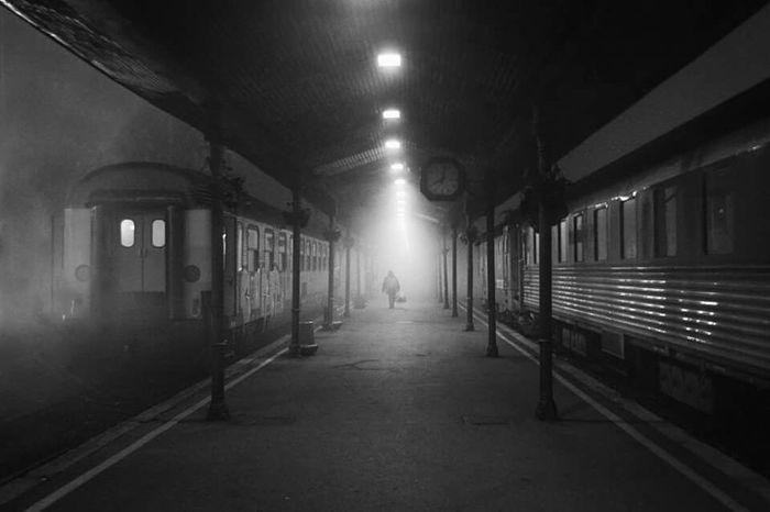Capture The Moment Belgrade Trainstation Accidental Shot
