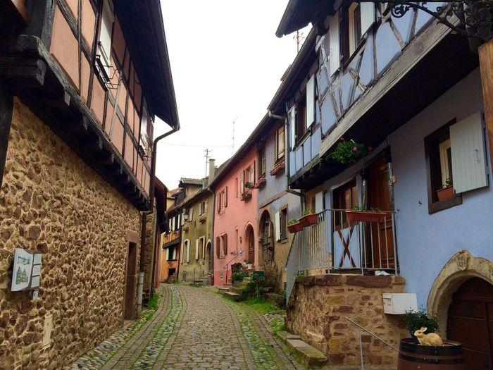 2016 April Alsace-Lorraine Alsace France Village House