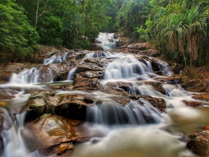 Lata Mengkuang Waterfall in Sik, Kedah, Malaysia Landscape Nature Beautiful View Tourism EyeEmNewHere River Natural Scenics Scenery Nature Photography Tree Water Waterfall Forest Motion Long Exposure Blurred Motion Flowing Water Falling Water Flowing Lush - Description Countryside Natural Landmark Running Water Rapid Moss Power In Nature Stream - Flowing Water Stream