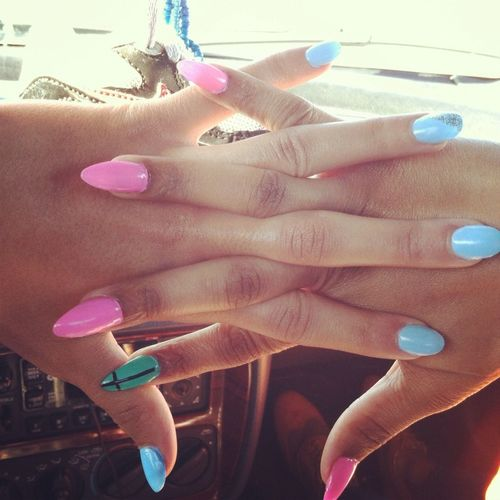 Nails Done With GF