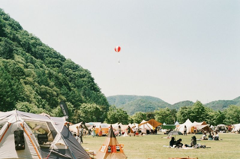 The Traveler - 2015 EyeEm Awards Camping South Korea