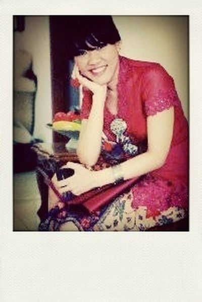 Red #JustMe Kebaya Best Friends Wedding