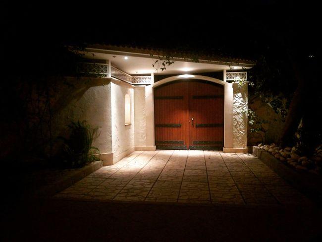 Lovely streets of Maadi ❤ Door Entrance Architecture Night No People Maadi Streetphotography