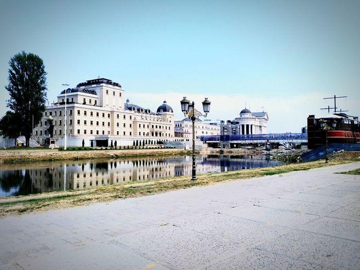 Skopje Centar City Architecture ❤