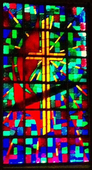 Stained Glass Oklahoma Churches Stainedglass Stained Glass Window Stainedglasswindows Church Window Stained-glass Windows Stainedglasswindow Crosses Cross Churchwindow Church Cross Oklahoma Tulsa, Oklahoma Tulsa,oklahoma My Oklahoma Tulsa