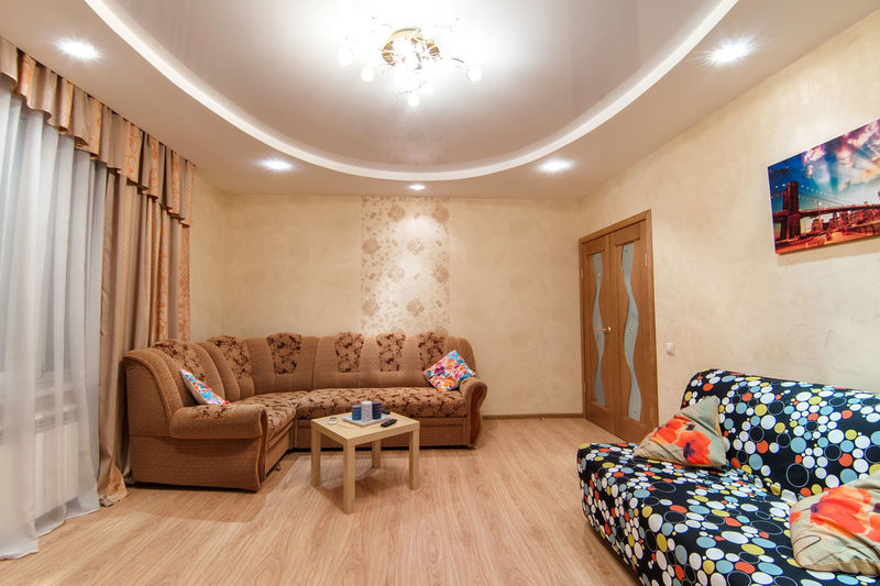 Indoors  Furniture Domestic Room Home Interior Bed Bedroom Home Showcase Interior Pillow Flooring Absence No People Home Wall - Building Feature Sofa Wood Lighting Equipment Comfortable Hardwood Floor Luxury Illuminated Cozy Ceiling Clean
