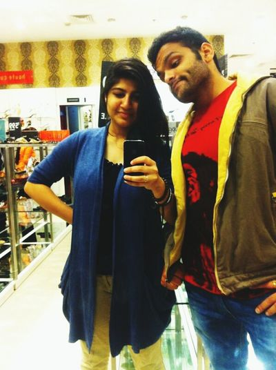 Dimples :) With Sister Enjoying Life That's Me