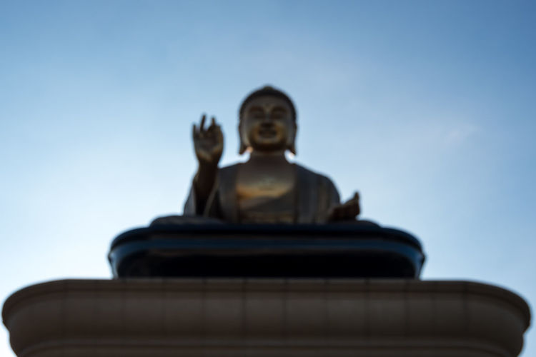 Defocused Giant Buddha Statue at Fo Guang Shan Temple in Kaohsiung, Taiwan. Big Buddha Buddha Buddha Image Buddha Temple Buddhist Giant Kaohsiung Kaohsiung, Taiwan Meditation Religion And Tradition Taiwan Blurry Buddha Head Buddha Statue Buddhism Buddhist Temple Chinese Culture Culture Defocused Fo Guang Shan Giant Buddha Glowing Peaceful Religion Unfocused