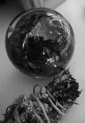 Glass ball &