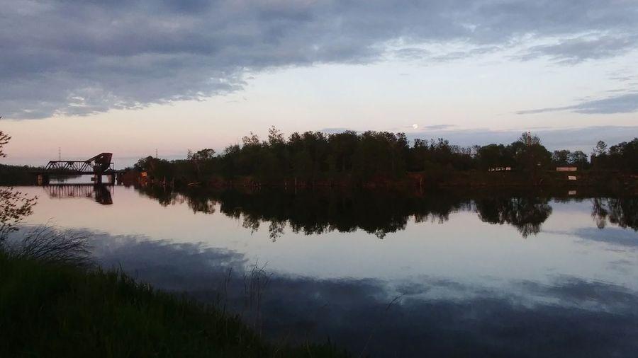 Thunder Bay River Reflection Cloud - Sky Outdoors Beautiful Nature