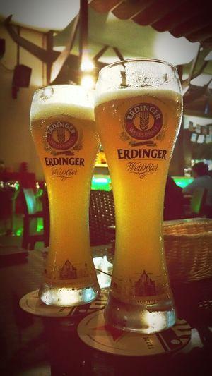 Having A Beer Just Chilling Punggol Drinking Beer Wonderful Night