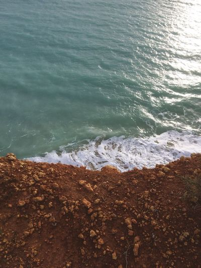 Portugal Coastline Sea Water Wave Nature Beauty In Nature No People Outdoors Beach Day Crashing Clffpath