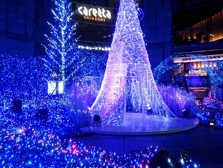 Relaxing Taking Photos Hi! Hello World Check This Out My Country In A Photo Illumination Blue Tokyo 汐留 Japan EyeEm Best Shots The Culture Of The Holidays Beauty
