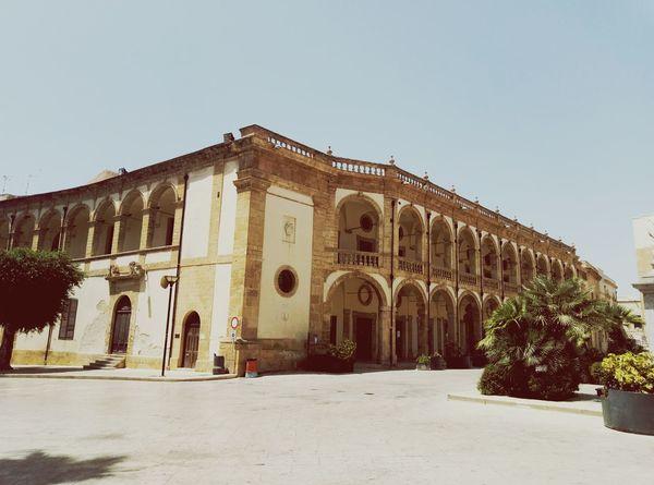 EyeEm Selects Architecture Palazzo Del Seminario Neoclassical Architecture Settecento Porticato Loggiato Arch And Columnus Travel Destinations