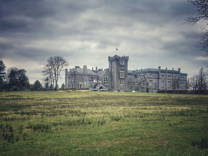 Ireland Castle Architecture Sky Built Structure Cloud - Sky Building Exterior Grass No People