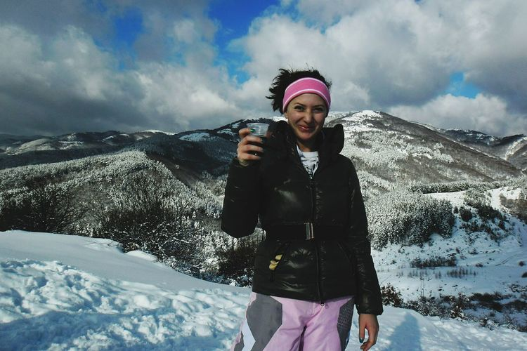 Made In Bulgaria BeautifulBULGARIA Monclerjacket Redwine And Sweet People. Cold Winter ❄⛄