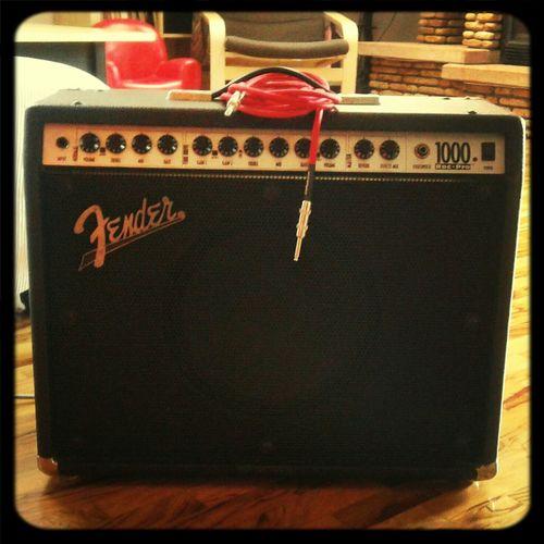 Fender Guitar Amplifire Blues