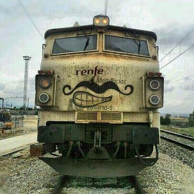 Máquina Renfe Bigotes Tren