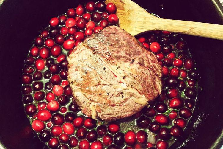 Xmas Winter Food Cranberries Cooking