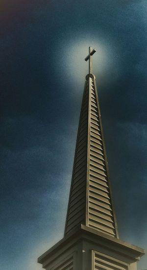 Redemption. Church Steeple Blue Sky Redemption No Edit No Fun Louisville, Kentucky
