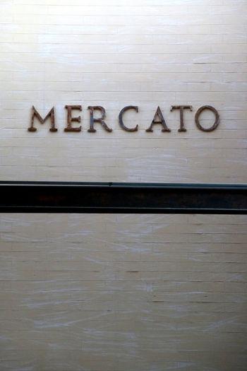 Close-up Communication Day Ex Macello Ex Mattatoio Indoors  Mercato No People Roma Scritta Testaccio  Text Trajan Trajan Font
