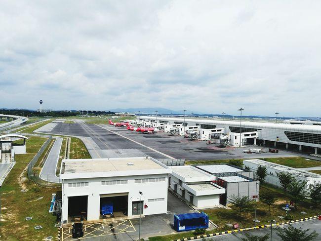 Airport Transportation Cloud - Sky Passenger Boarding Bridge Sky Aeroplane Airasia AirAsiaMalaysia Airport Runway