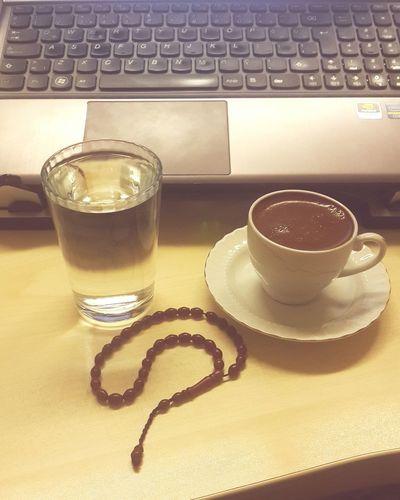 Ofiste kahve keyfî...