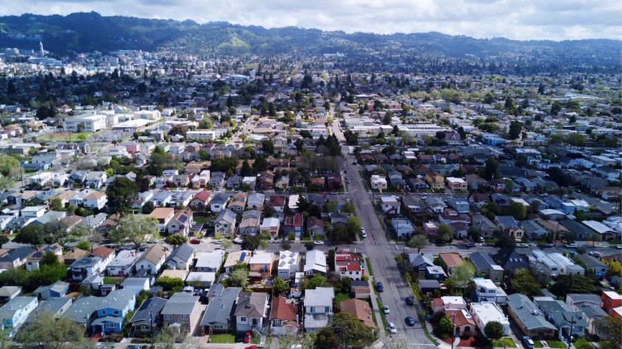 EyeEm Selects Architecture Building Exterior Cityscape Residential District Aerial View City High Angle View Built Structure House Residential Building Outdoors Town Day No People Roof Housing Development Community Sky Nature L. Jeffrey Moore Mavic Pro Dronephotography Perspectives On Nature