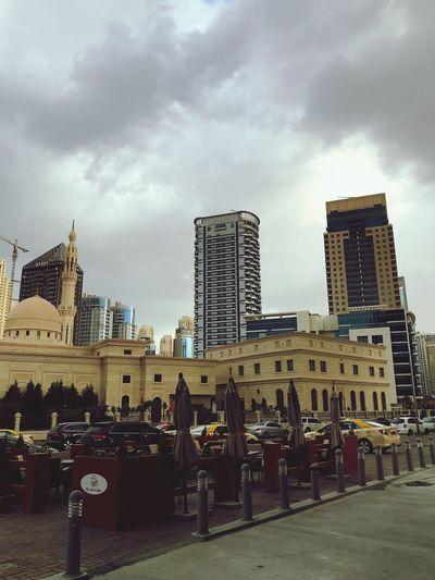 UAE Dubai Dubai Marina Winter Mosque In Dubai